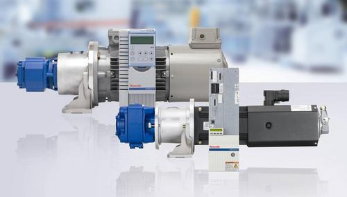 Sytronix servo-variable pump drives from Bosch Rexroth provide a hybrid-type control that combines the advantages of servo technology with hydraulic pump control.   (Source: Bosch Rexroth)