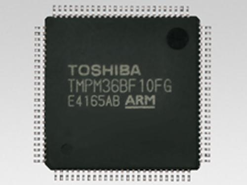 Toshiba America Electronic Components has expanded its TMPM36x microcontroller line with the memory-rich TMPM36BF10FG, which is designed for energy management and other real-time industrial applications that need to process and store large amounts of data.(Source: Toshiba America Electronic Components)
