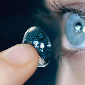 Technology-enhanced contact lenses are poised to be the platform of the future for digital-information delivery, and now a medical-device company called EPGL Medical has designed an energy harvester that generates energy from eye movements and blinks to power contact lenses to support next-generation digital and biomedical applications.   (Source: iOptik)