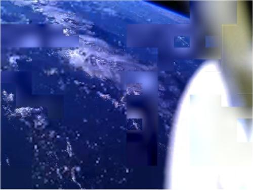 In April, NASA deployed three smartphone-based satellites (named Alexander, Graham, and Bell) that took pictures of the Earth from space and transmitted the data packets back to Earth, where they were received by a NASA team and by amateur radio operators around the world. This photo was taken by PhoneSat 1 (Bell).(Source: NASA Ames)