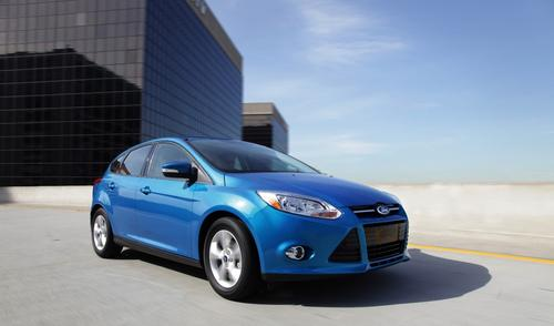 A gas-burning Focus provides an apples-to-apples safety comparison. The conventional model was awarded four stars in frontal, rollover, and overall protection. In a side-crash evaluation, it picked up a five-star rating.(Source: Ford Motor Co., NHTSA)