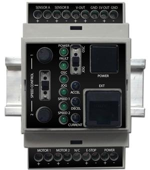 The new D-Con DC Motion Controller from Specialty Motors Inc. comes in 12V and 24V versions and allows for the creation of single, multi-axes, or synchronous automated systems without complex programming or purchasing specialty motors or equipment.   (Source: Specialty Motors Inc.)
