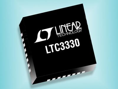 Linear Technology has released a hybrid solar-vibration energy-harvesting chip, the LTC330, which can deliver up to 50 mA of continuous output current to extend battery life when harvestable energy is available.   (Source: Linear Technology)