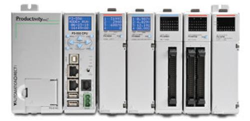 Modern and powerful PLCs and PACs can perform many of the data acquisition functions formerly reserved for SCADA, PC-based, and other control systems.(Source: AutomationDirect)