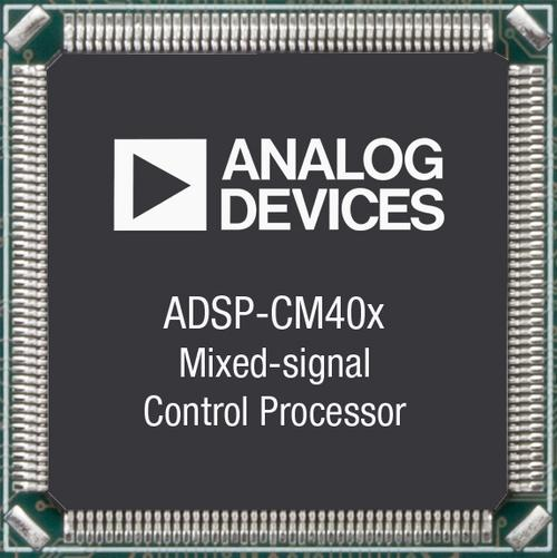 Analog Devices' new mixed signal processor.   (Source: Analog Devices)