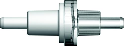 One-way check valves, with more advanced latex-free silicone membrane diaphragms, have a cracking pressure range less than or equal to 12 mBar (0.174 psig).