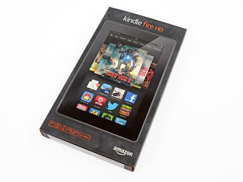 Here it is, the Kindle Fire HD 2013 -- and it's bringin' the heat:
