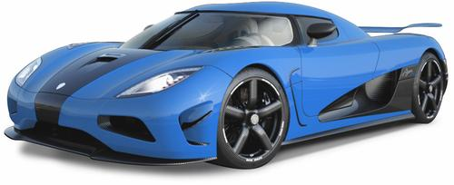 Koenigsegg's Agera S accelerates from 0 to 62 mph in 2.9 seconds and has a top speed of 260 mph. The Swedish automaker has built 30 of them, with some selling in excess of $4 million. Starting price is $1.46 million.