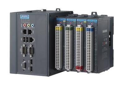 The APAX-6572 controller from Advantech integrates three key aspects of automation -- computing, control, and communication -- into an open system architecture.   (Source: Advantech)