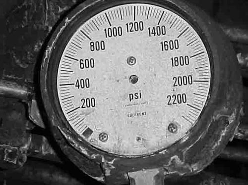 An example of a gauge that failed due to corrosion.   (Source: Wika)