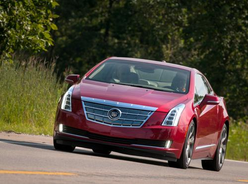 Cadillac's ELR will hit the streets in January, starting at $75,995. A federal tax credit of $7,500 could bring the price as low as $68,495.   (Source: Cadillac)