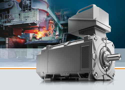 The Simotics FD motor series is a new type of motor concept based on an intelligent modular system, including a unique design that uses internal cooling ribs.   (Source: Siemens Industry)