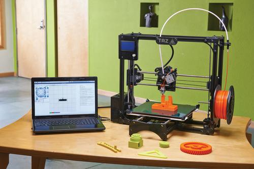 LulzBot's TAZ 3D printer is being crowd funded through fundable.com.   (Source: Fundable.com)