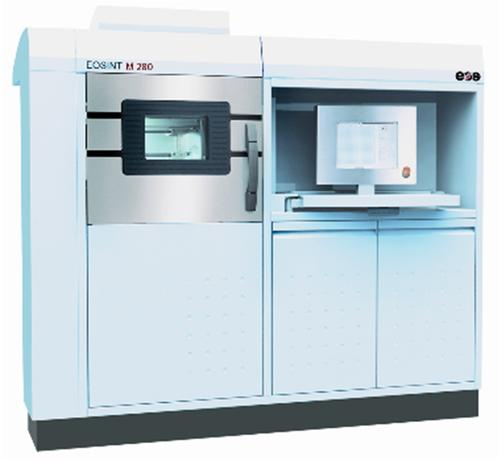 The EOSINT M280 metals machine has been used to produce tooling cores for injection molding that have more precise cooling channels for conformal cooling than can be made with conventional drilling methods. They were also made faster and at a lower cost.  