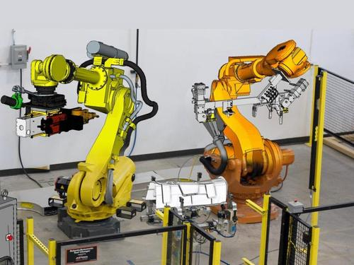 Today's manufacturing robots are sophisticated mechatronics systems that require PLM traceability and dependency management to ensure engineers in each design domain to understand the impact of their decisions on other domains.