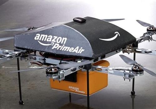 Amazon.com hopes its octocopters will be delivering packages within four or five years.(Source: Amazon.com)