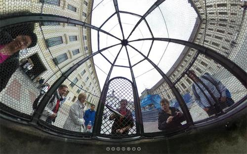 Here's an example of a 360 photo.