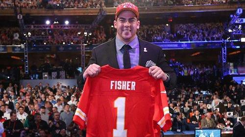 These days, Eric Fisher is getting his education on the football field for the NFL's Kansas City Chiefs. But the 6-foot, 8-inch, 305-pound offensive tackle was also educated as a mechanical engineer at Central Michigan University. Fisher held the distinction of being the first player drafted in the 2013 NFL draft and the first engineer (that we're aware of) to be a top NFL draft pick. (Source: Kansas City Chiefs)