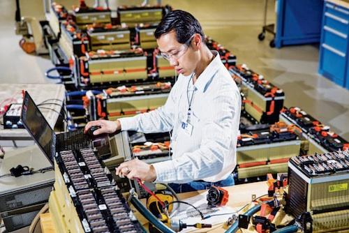 At the company's new battery lab, GM engineers hope to double the energy density of lithium-ion chemistries.