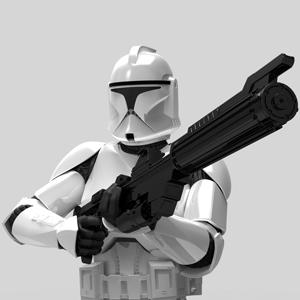 Gentle Giant's Clone Trooper model.   (Source: Gentle Giant Studios)