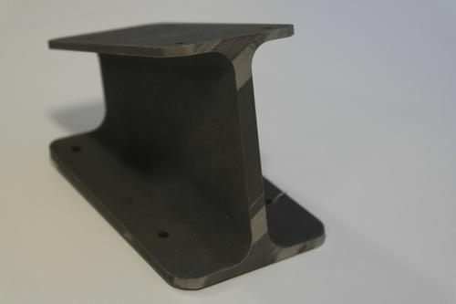 What may be the first 3D-printed metal part to fly on a UK military jet is this camera bracket. BAE Systems designed and printed the part, and also developed the process.   (Source: BAE Systems)