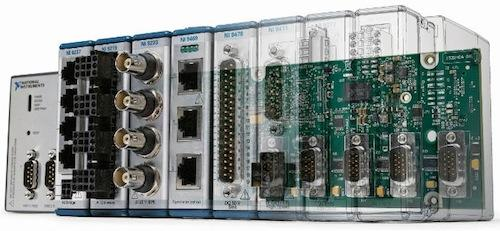 New, more advanced PACs add unique processing elements for timing, high-speed control, and signal analysis to the traditional floating-point processor.   (Source: National Instruments)