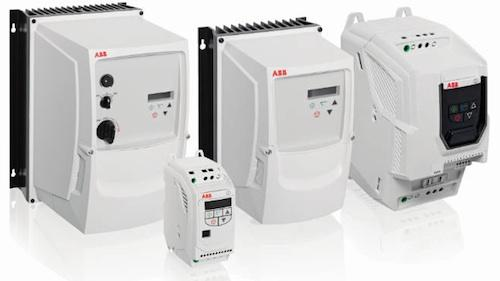 New ACS250 drives from ABB are targeted at replacing motor starters or soft starters with a drive to help improve overall energy efficiency, reduce mechanical stresses, and enhance process control. Feed-through wiring provides an ability to replace motor starters for general-purpose, low-power applications such as augers, mixers, pumps, fans, and conveyors.