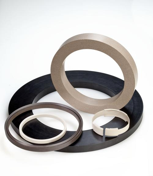 Rings and seals traditionally machined from thermoset stock shapes can be more efficiently injection molded using RTP Company's Ultra Performance Structural Compounds. These provide higher strength and stiffness properties from carbon or glass fibers that rival those of metals, along with temperature and chemical resistance characteristics of the host polymer: PEEK, PPA, PPS, or PEI.   (Source: RTP Company)