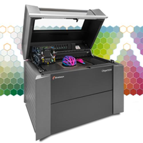 Stratasys's Objet500 Connex3 multi-material 3D printer sells for $330,000.   (Source: Stratasys)
