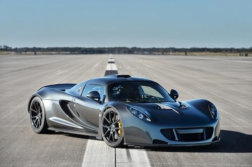 The Hennessey Venom GT hit a top speed of 270.49 mph, said to be the fastest ever for a two-seat sports car.  (Source: Hennessey Performance)