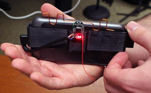 University of Washington computer scientists have developed the AllSee prototype sensor, which allows users to control devices such as smartphones through hand movements, even if the users can't see them.(Source: University of Washington)