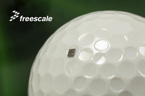 Freescale's KL03, said to be about 35% smaller than competing ARM-based devices, measures just 1.6 x 2.0 mm.  (Source: Freescale Semiconductor)