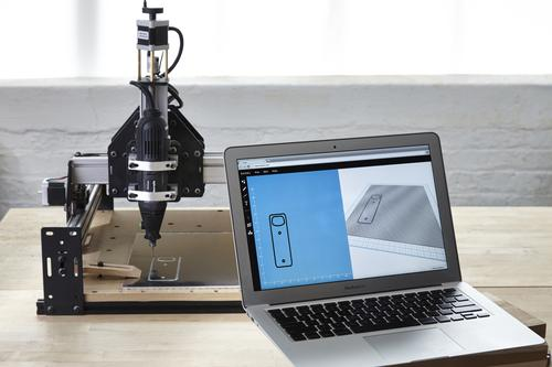 Inventables Easel app for cloud-based design and fabrication.  (Source: Inventables)