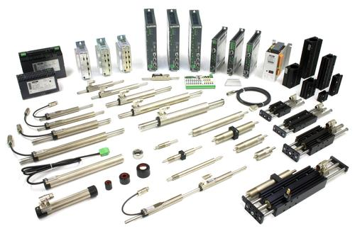 Figure 1: Tubular linear motors are used more and more often to replace pneumatics.