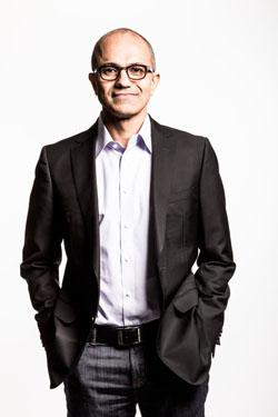 Microsoft CEO Satya Nadella's most prominent characteristic is his energy. After earning a BS in electrical engineering from the Manipal Institute of Technology in India, he moved to the US, earned an MS in computer science, went to work for Sun Microsystems, and then launched a career with Microsoft Corp. While at Microsoft, Nadella earned an MBA from the University of Chicago by flying from Redmond, Wash., to Chicago every Friday night, taking classes on Saturday, and flying back for the work week. His mantra to Microsoft team members: 'Our industry does not respect tradition -- it only respects innovation.'  (Source: Microsoft Corp.)