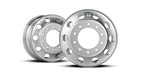 Alcoa rolled out what it calls the world's lightest heavy-duty truck wheel, the Ultra One forged aluminum wheel.(Source: Alcoa)