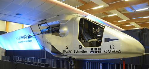 Aboard the Solar Impulse 2 are several advanced materials from Bayer MaterialScience, which has been an official sponsor of the project since 2010. The company was responsible for the design of the entire cockpit shell and for providing materials for other structural components and films for the cabin window.
