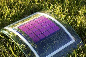 The MatHero project aims to develop organic solar cells out of a polymer-based material like the one shown here. The project will use new materials and find green processes to synthesize cellsand coat them with photovoltaic material.(Source: Karlsruhe Institute of Technology)