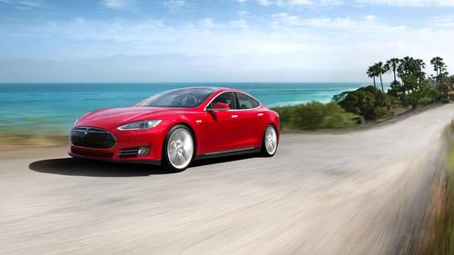 Tesla's successful Model S sedan would probably represent only a small portion of the Gigafactory's potential volume. Most of the factory's batteries would be used in the forthcoming Gen III mainstream vehicle.   (Source: Tesla Motors)