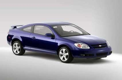 An ignition switch defect on the Chevy Cobalt, among other GM cars, cost the company $1.3 billion.   (Source: Wikicars)