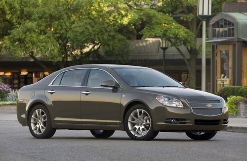 Chevrolet's 2004-2012 Malibu was recalled for problems with the brake lamp's wiring harness. GM said that the harness could be damaged by micro-vibrations, potentially causing brake lamps to fail.  (Source: GM)