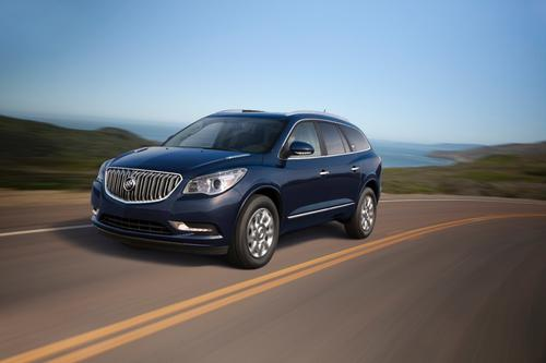The Buick Enclave is one of 1.339 million vehicles recalled by GM to fix a front safety lap belt that can fatigue and separate over time.   (Source: General Motors)