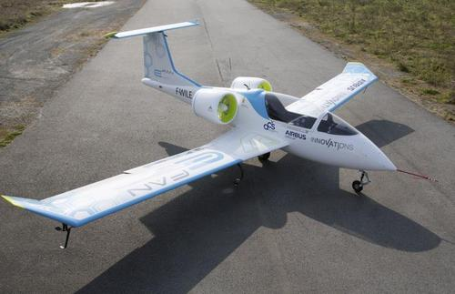 The all-electric E-Fan training aircraft has zero carbon dioxide emissions in flight. It is expected to bring a significant reduction in noise around airfields. This will help improve relations between local residents and flight schools, and improve the long-term prospects of training future professional pilots. (Source: Artem Tchaikovski)