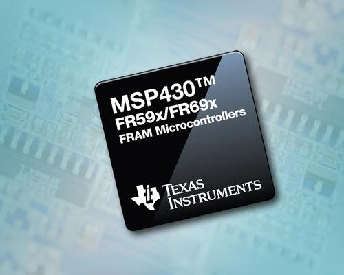 TI's FRAM-based microcontrollers are targeted at energy harvesting and ultra-low-power applications.   (Source: Texas Instruments)
