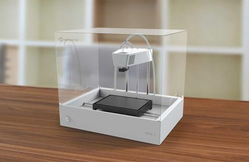 New Matter's MOD-t 3D printer. (Source: New Matter)