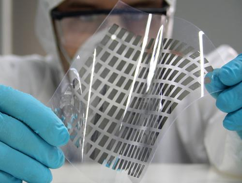 Plastic computing will give designers the ability to use unique flexible displays.   (Source: COLAE)