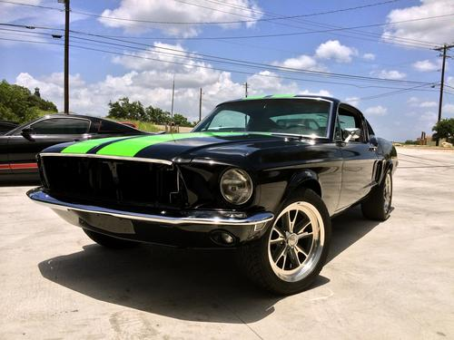 The 1968 Mustang Fastback is one of many vintage performance cars that Bloodshed hopes to convert. Others include Chevy Camaros and Corvettes, Plymouth Barracudas, Pontiac GTOs, and Dodge Chargers. (Source: Bloodshed Motors)