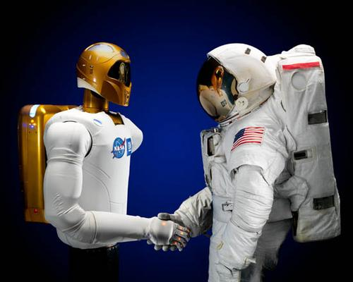 Robonaut 2, the current generation of NASA's humanoid robot, does what robots are supposed to do -- take away jobs that are really too dull, dirty, or dangerous for humans. It frees up astronauts on the space station to do more interesting and complex things, like monitor scientific experiments and data-gathering projects.   (Source: NASA)