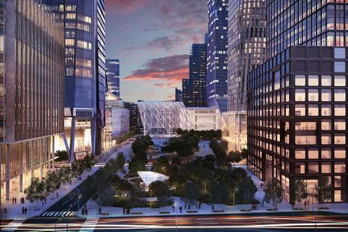 Not to be outdone by its global counterparts, the US cultural capital of New York has been working on smart-city plans for a number of years, particularly with Internet and open-data plans to give residents more online access to city services and information. But perhaps its most ambitious smart-city project to date is the Hudson Yards project (artist's concept pictured), a 28-acre commercial and residential area on Manhattan's west side that will be a Utopia of green initiatives and Internet access once it's finished in 2018. The project will digitally track environmental and lifestyle factors -- such as foot traffic, energy consumption, and air quality -- to provide an optimal quality of life for Hudson Yards residents and businesses. It will even include a trash-disposal system that will remove waste via underground pneumatic tubes rather than a typical truck-based service.  (Source: hudsonyardsnewyork.com)