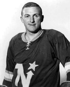 Bill Masterton is best known for his link to hockey tragedy. Masterton is the only player in NHL history to die as a direct result of injuries sustained during a game. But Masterton, who played for the old Minnesota North Stars in the 1960s, also had a full life off the ice. He held an M.S. in mechanical engineering from the University of Denver and served as an engineer with Honeywell Corp., working on the Apollo Space Program in the 1960s. Masterton's death in 1968, caused by a massive head injury, sparked a long-running debate over the need for helmets and probably contributed to the league's adoption of them 11 years later.   (Source: greatesthockeylegends.com)
